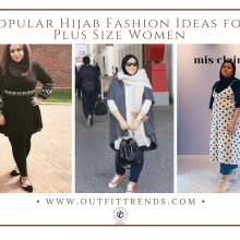f7a5400eb 18 Popular Hijab Fashion Ideas for Plus Size Women-Hijab Style