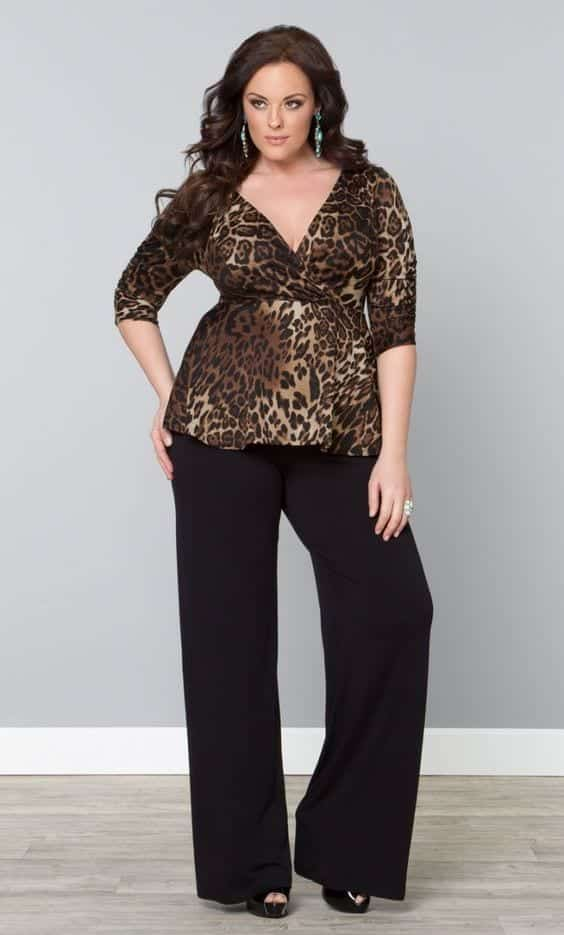 Palazzo Pants For Plus Size 24 Palazzo Outfit Ideas For Curvy Girls