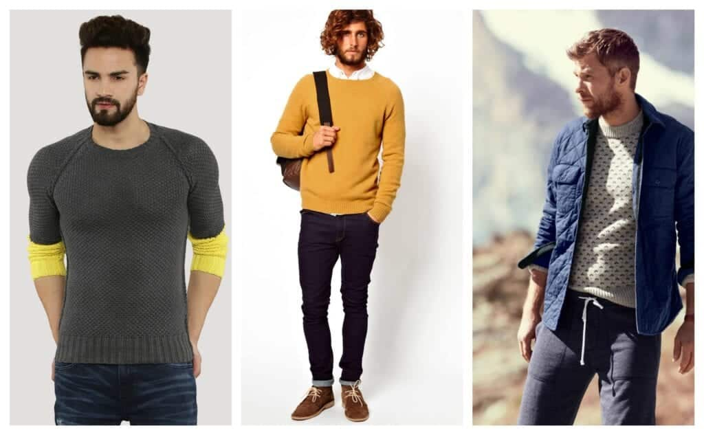 04b306da84 Sweater outfits for men – 17 Ways to Wear Sweaters Fashionably