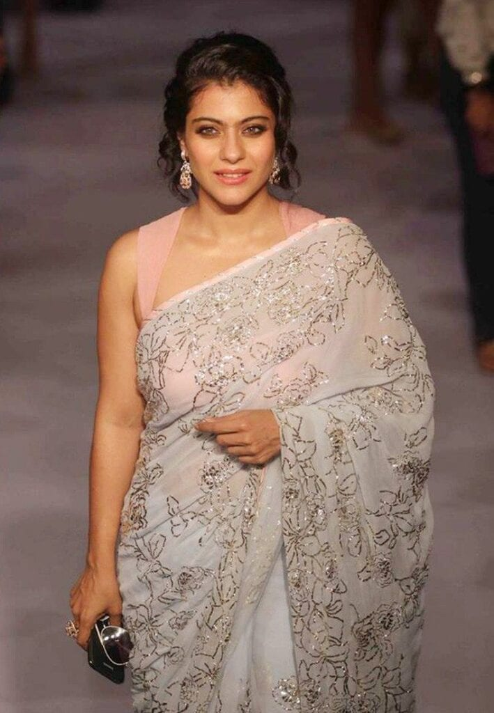 97e4c5a9b5 ... in the middle as it'll give you a rounder face that will make you look  shorter! RECOMMENDED: 20 Cute Celebrities Inspired Hairstyles to Wear With  Saree