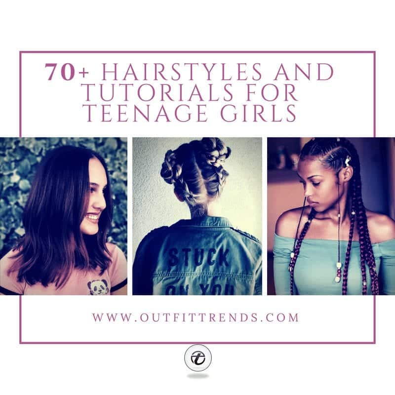 2018 Cute Hairstyles For Teenage Girls 70 Top Hair Styles