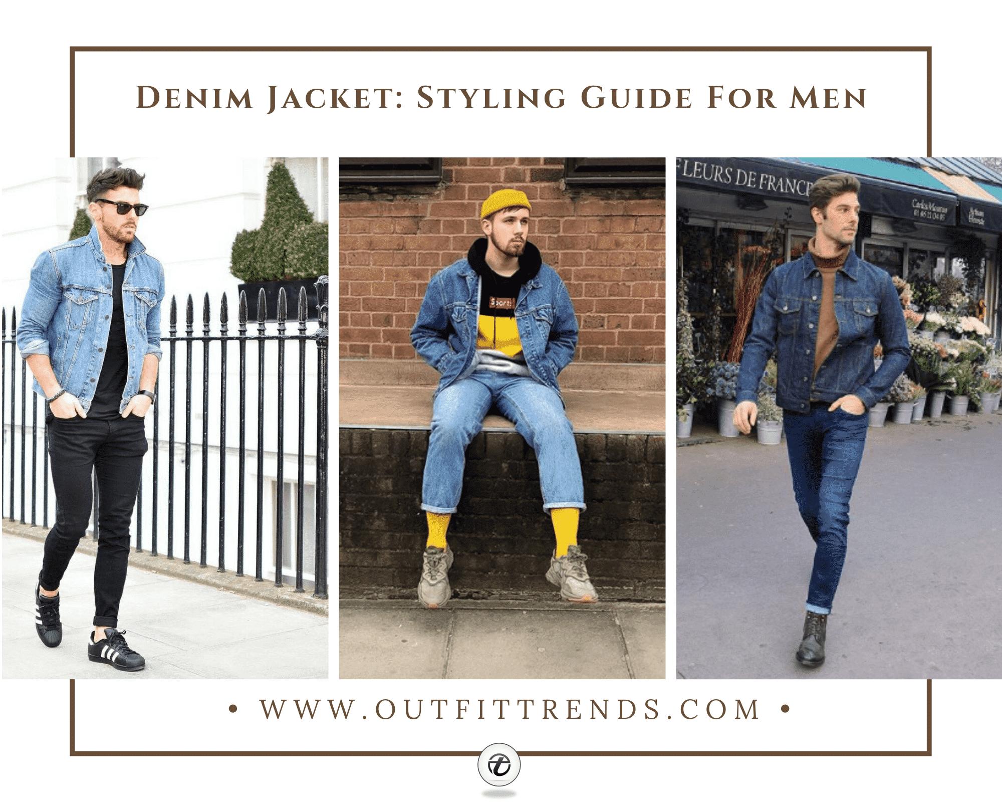 Denim Jacket Outfits For Men– 22 Ways To Wear A Denim Jacket