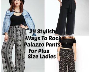 how to wear palazzo pants for plus size women