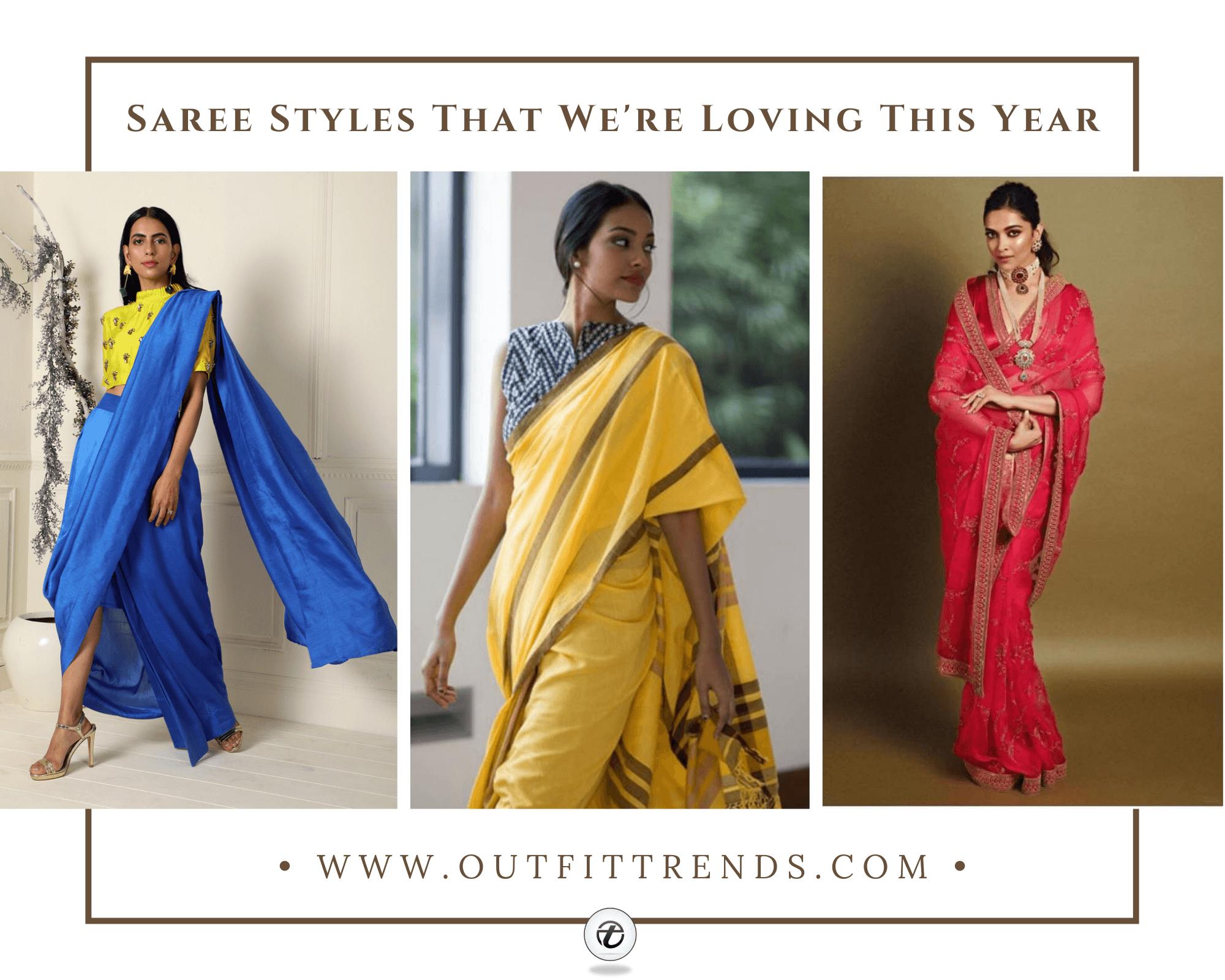 22 Most Elegant Saree Designs | Saree Wearing Tips and Ideas