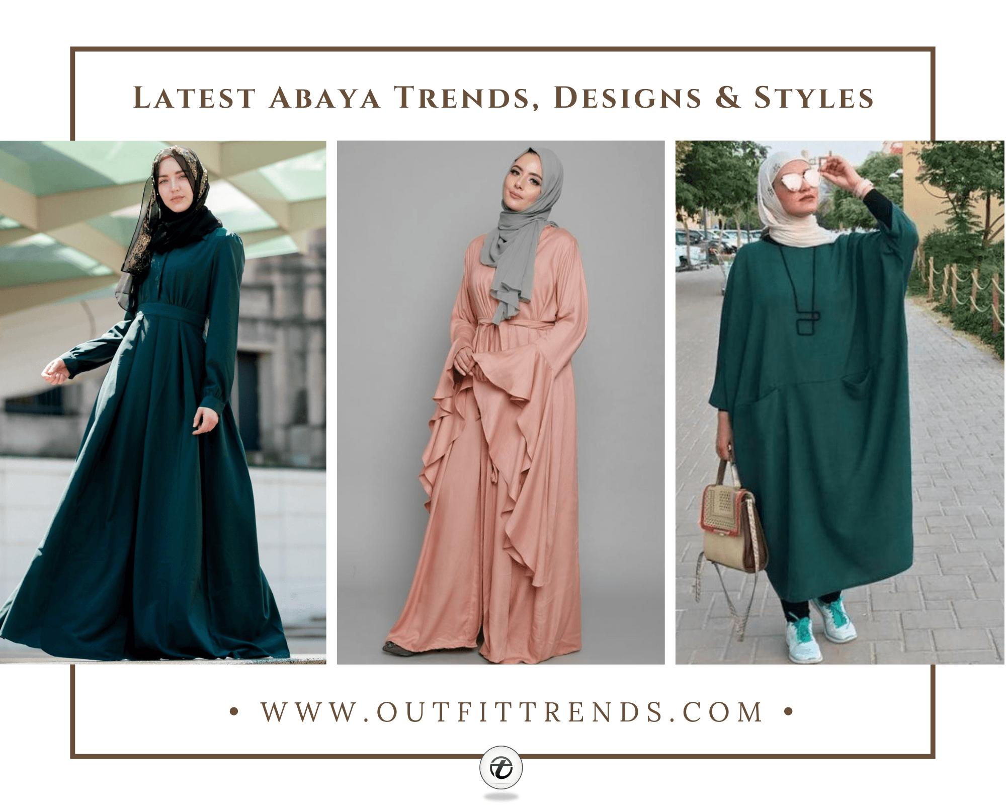 Modern Abaya Styles 2021 50 Best Abaya Designs on Instagram
