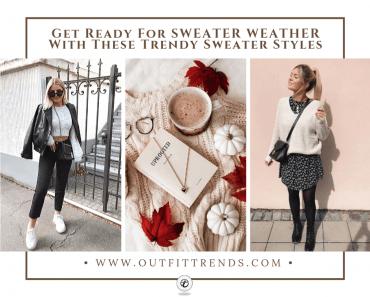 how to wear a sweater women