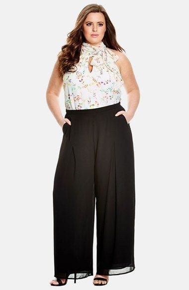 Palazzo Pants for Plus Size\u201324 Palazzo Outfit Ideas for