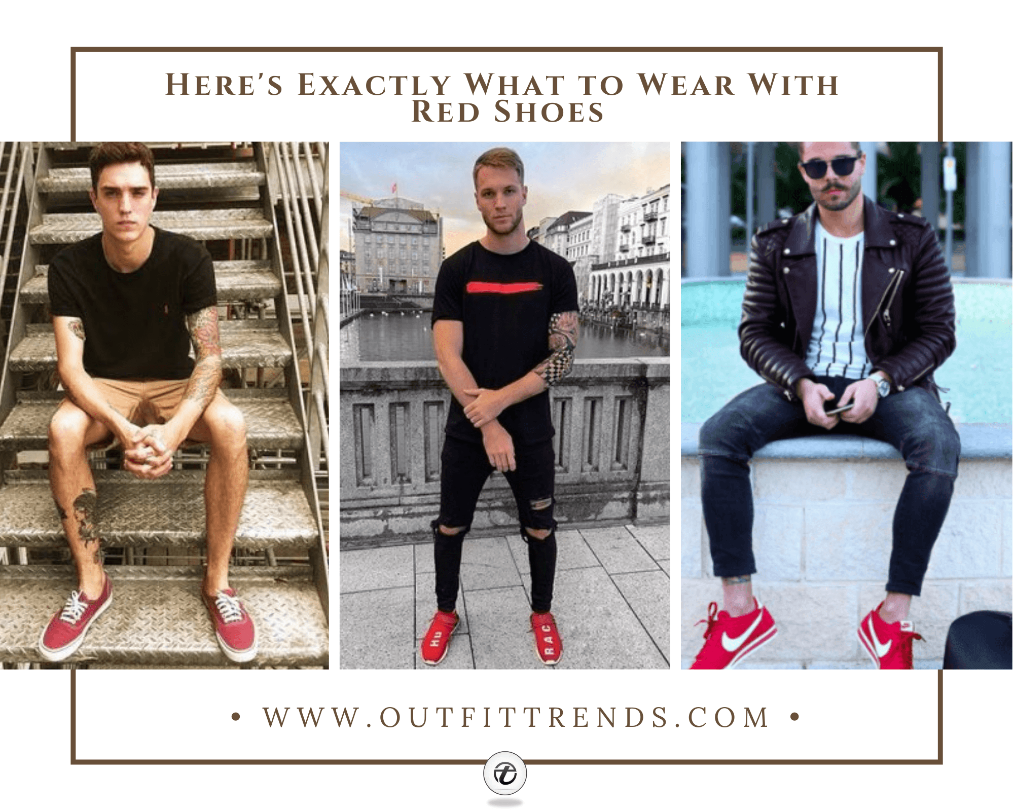 Red Shoes Outfits For Men | 33 Best Ways to Wear Red Shoes