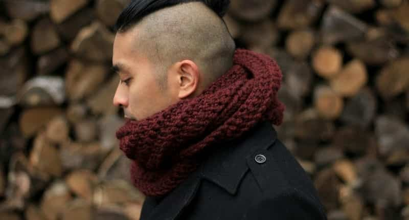 Men Scarves Fashion 18 Tips How To Wear Scarves For Guys