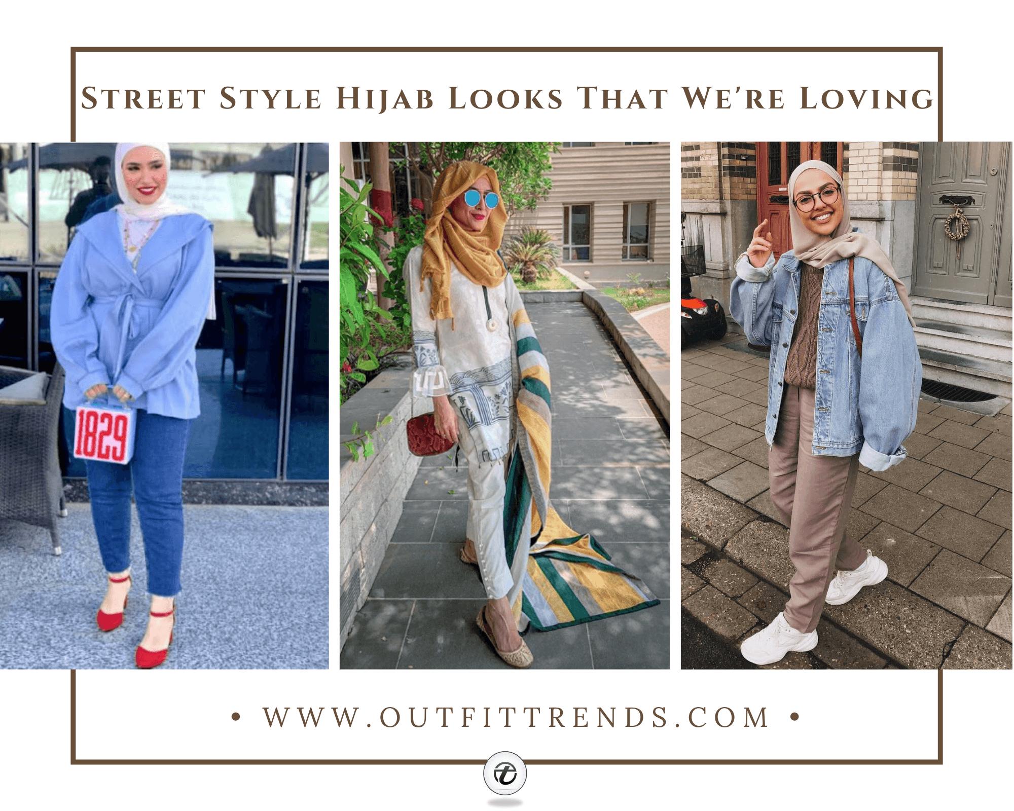 20 Popular Hijab Street Style Fashion Ideas For This Season