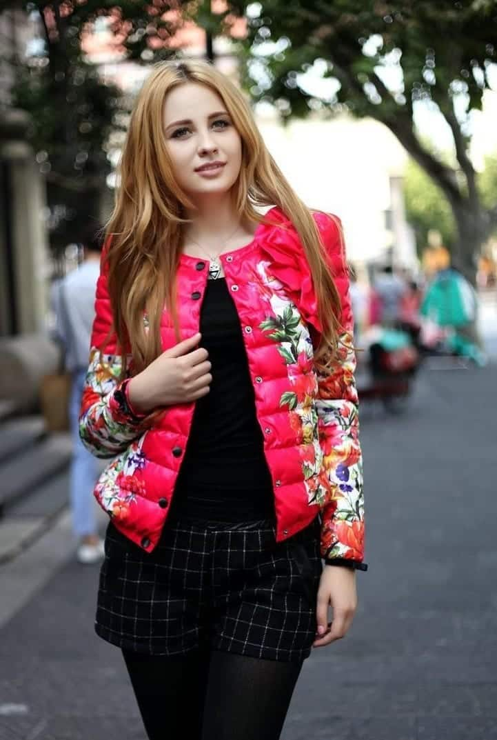 Spring Outfits With Floral Jackets-12 Cute Outfit Ideas