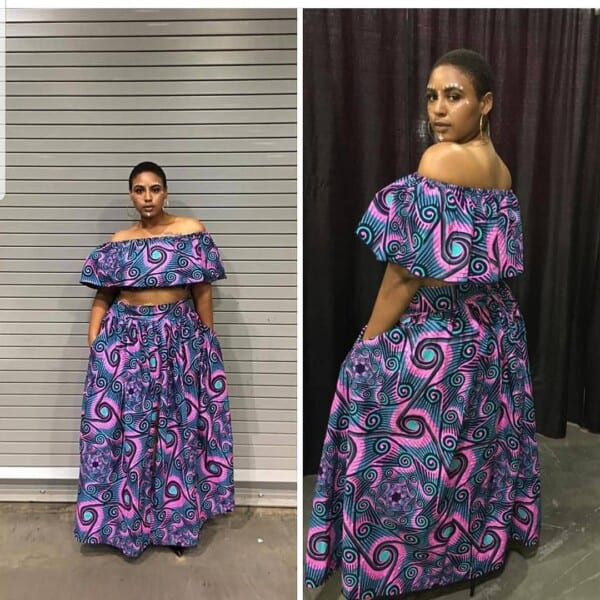 Kitenge Dresses for Young Girls