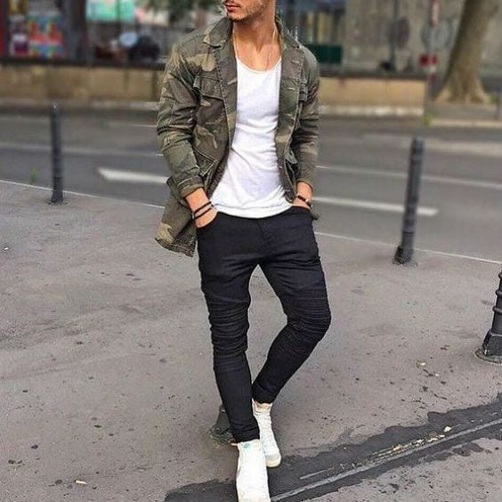 What Goes Well With Black Jeans For Guys