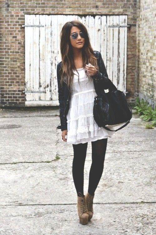 Outfits With Black Leggings 21 Ways To Wear Black Leggings