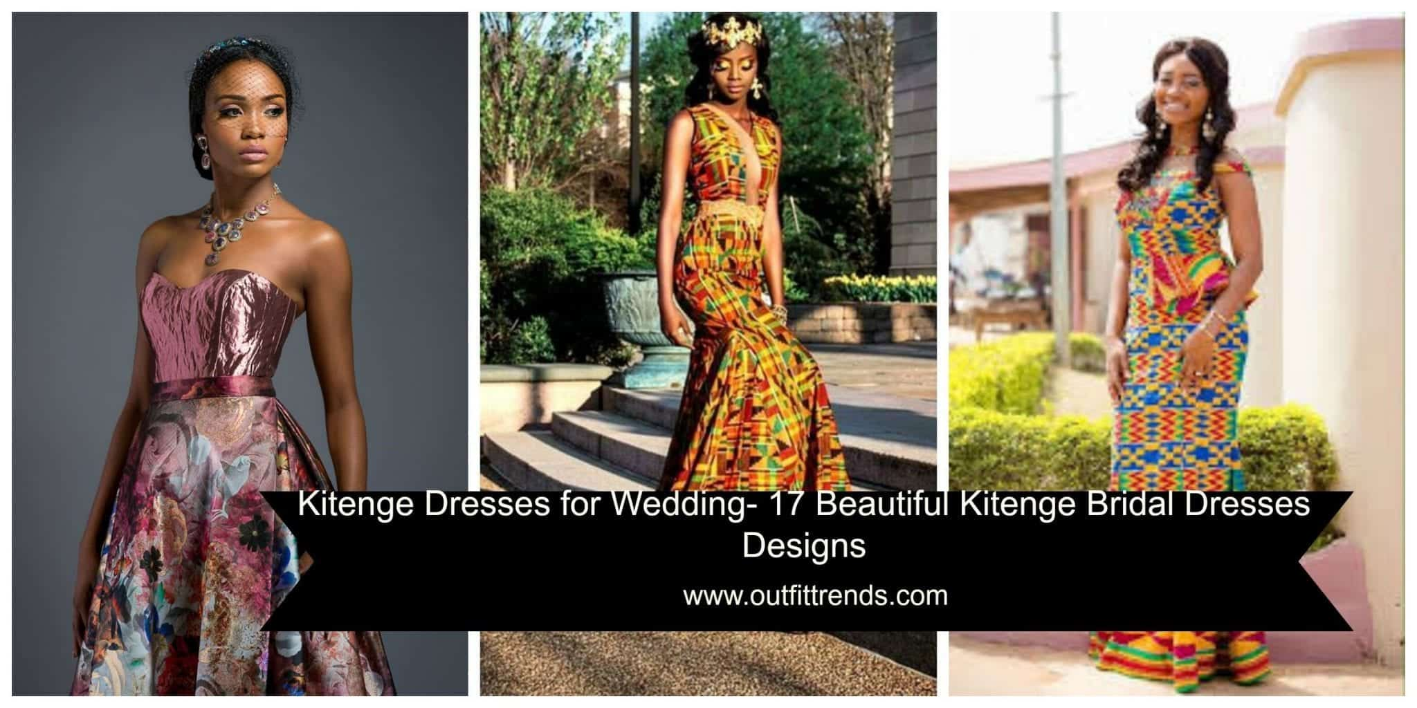 Gorgeous Kitenge Bridal Dresses