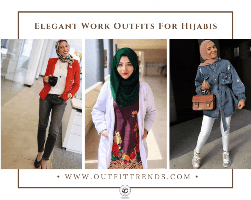 how to wear hijab for work