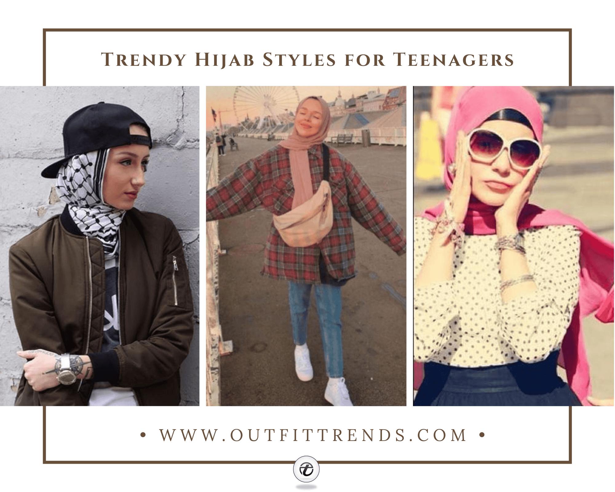 Hijab Outfits for Teenage Girls 25 Cool Hijab Style Looks