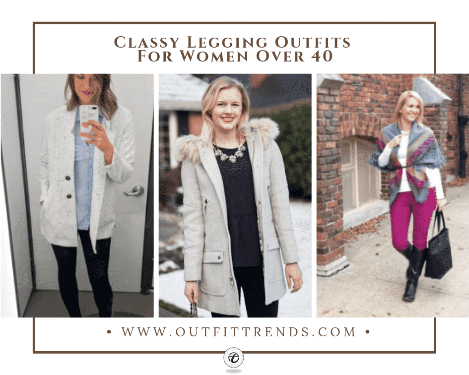 legging outfits for 40 plus women