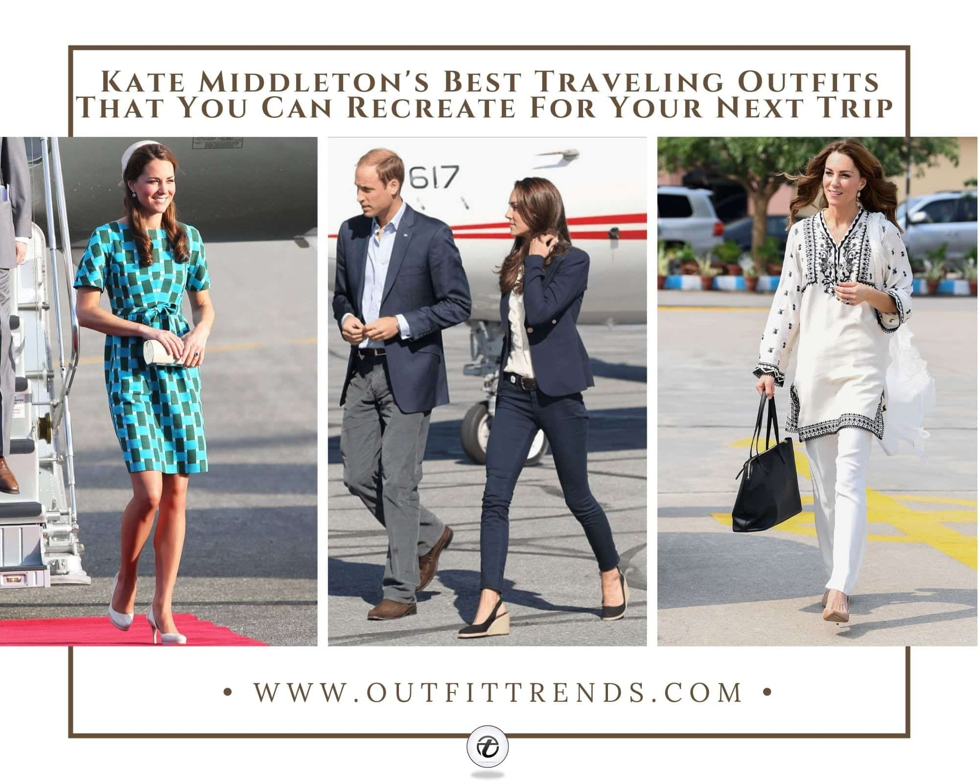 Kate Middleton Travel Outfits   19 Best Looks You Can Steal