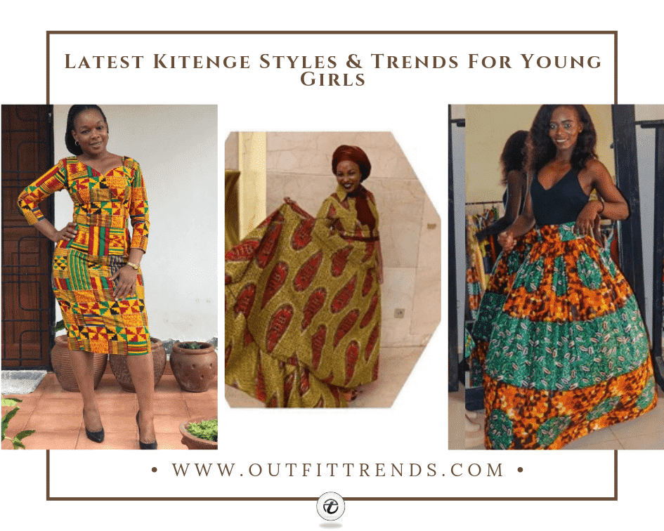 latest kitenge outfits for girls