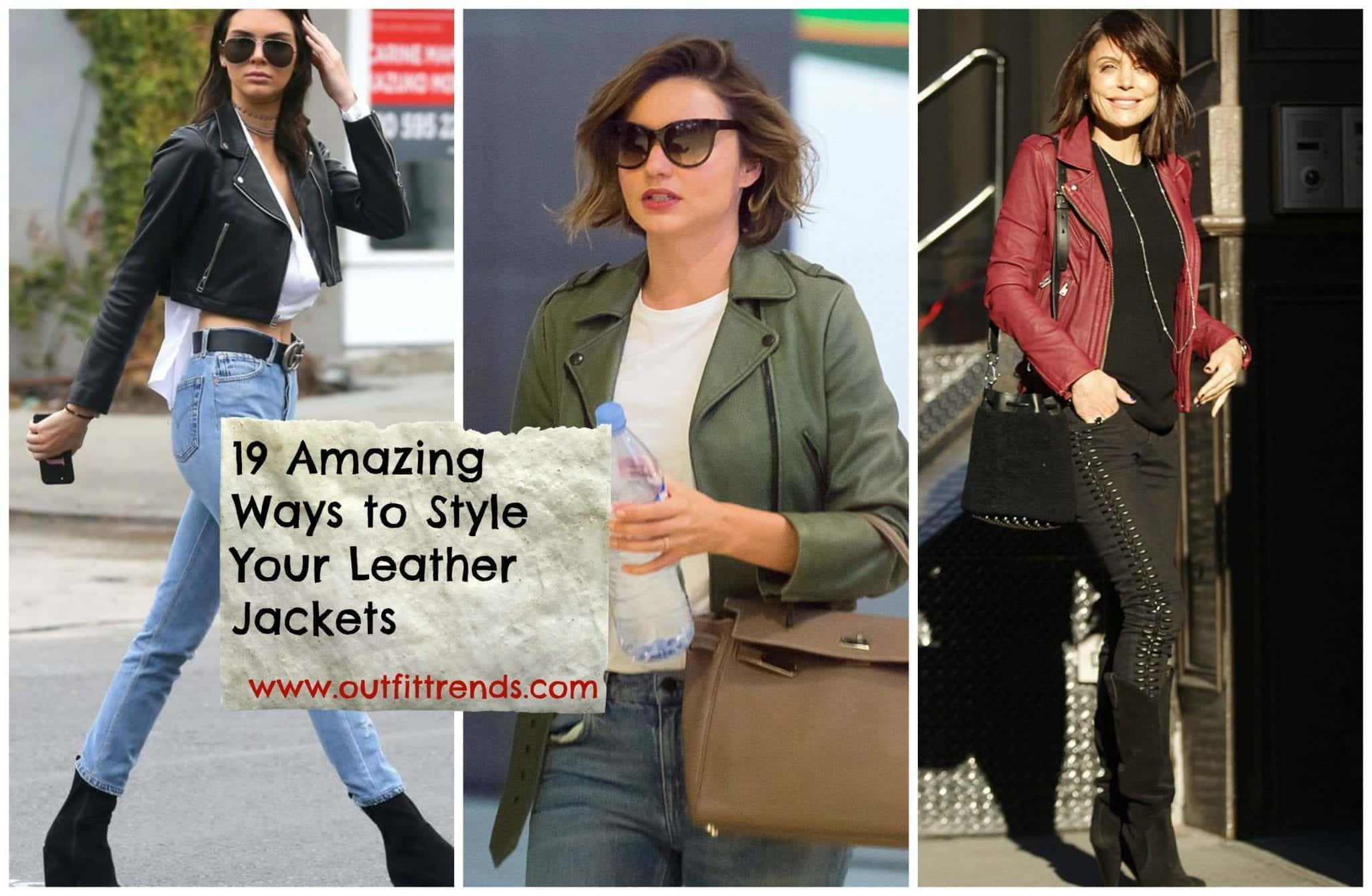 leather jacket outfits girls
