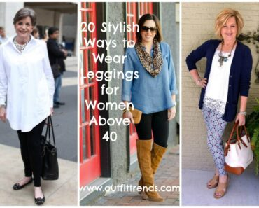 legging outfits for women above 40