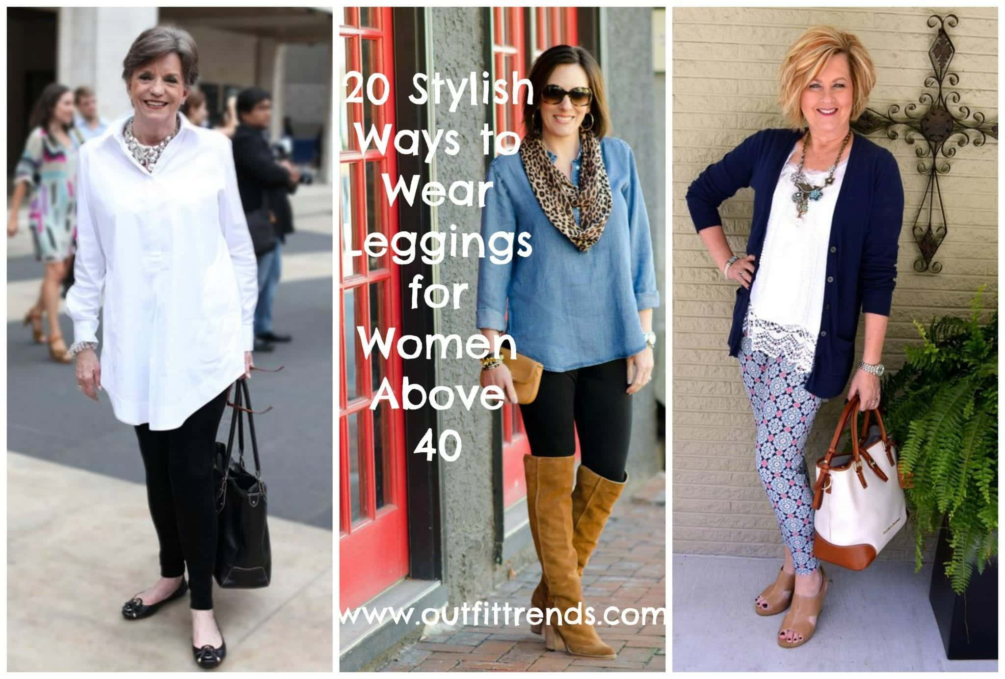 Legging Tips for Women Over 40– 20 Ways to Wear Legging when Above 40