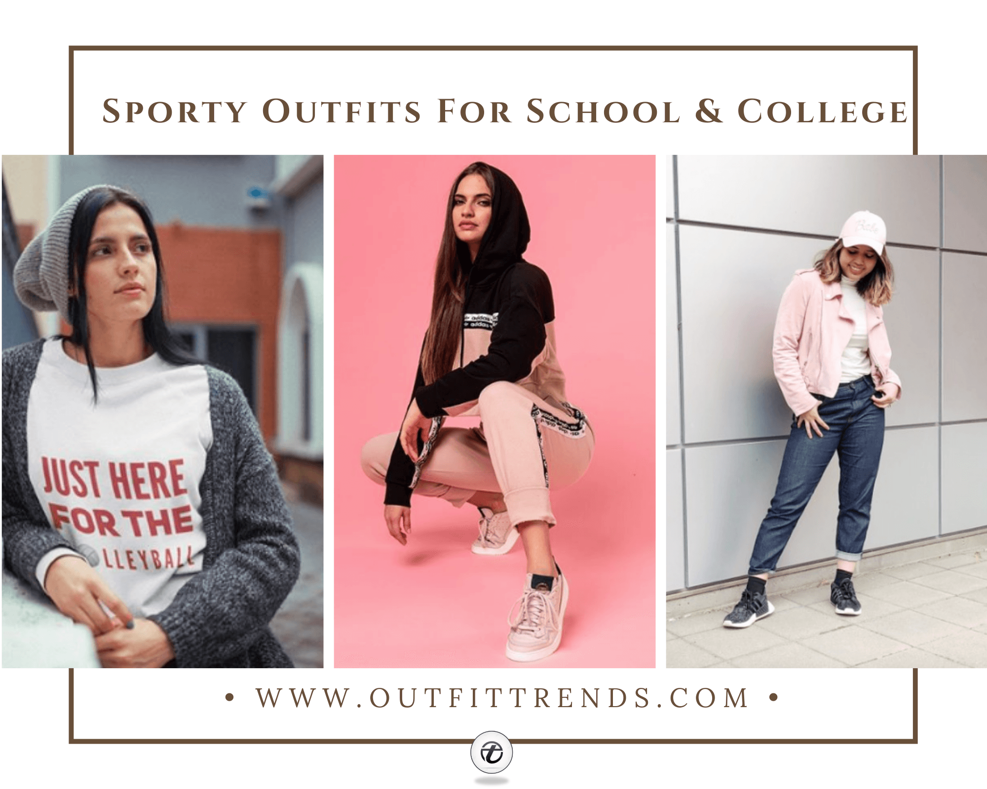 sporty school outfit ideas