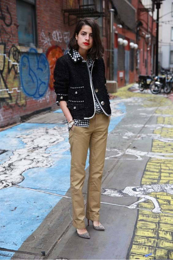 Women Khaki Pant Outfits 20 Ways Girls Can Wear Khaki Pants