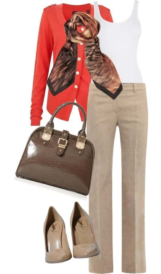 Women Khaki Pant Outfits 20 Ways Girls can Wear Khaki Pants