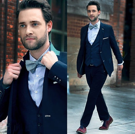 What Socks To Wear With Blue Suit And Brown Shoes