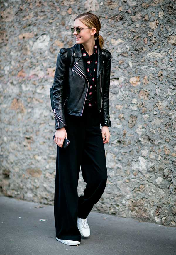 Top 20 Ways to Style Palazzo Pants with Sneakers for Women