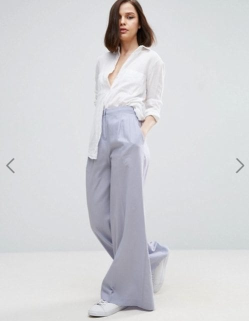 Top 20 Ways To Wear Palazzo Pants With Sneakers For Women