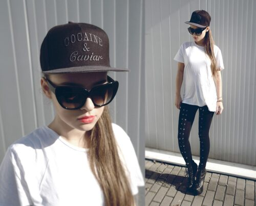 How to Wear a Snapback for Girls (2)