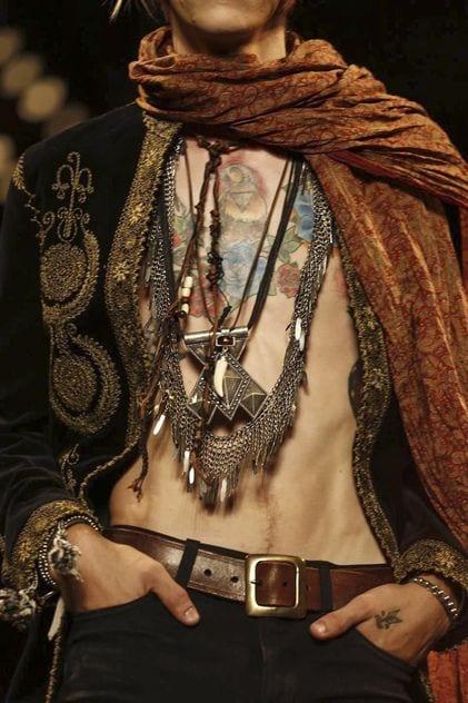 Bohemian style ideas for men (16)