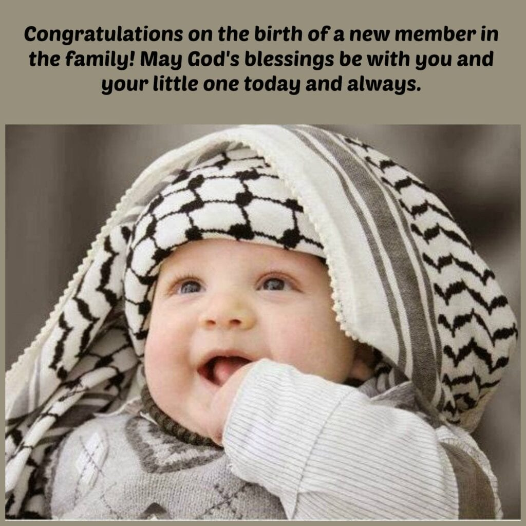 50 Islamic Birthday And Newborn Baby Wishes Messages Quotes