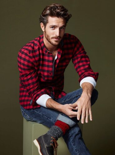 Flannel Outfit Ideas for Men (19)