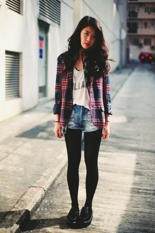 Image result for flannel outfit