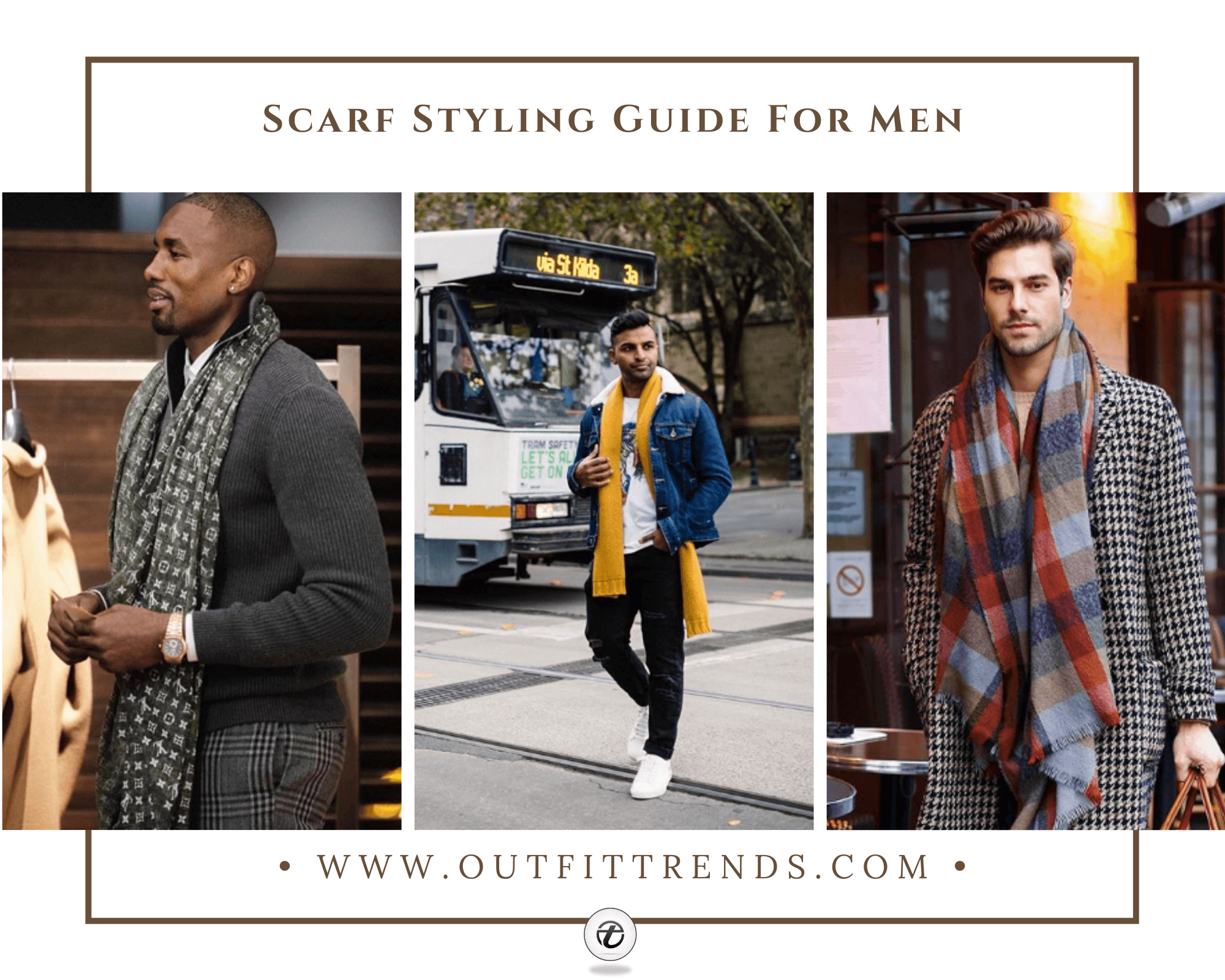 Outfits with Scarves 43 Ways for Men to Wear a Scarf