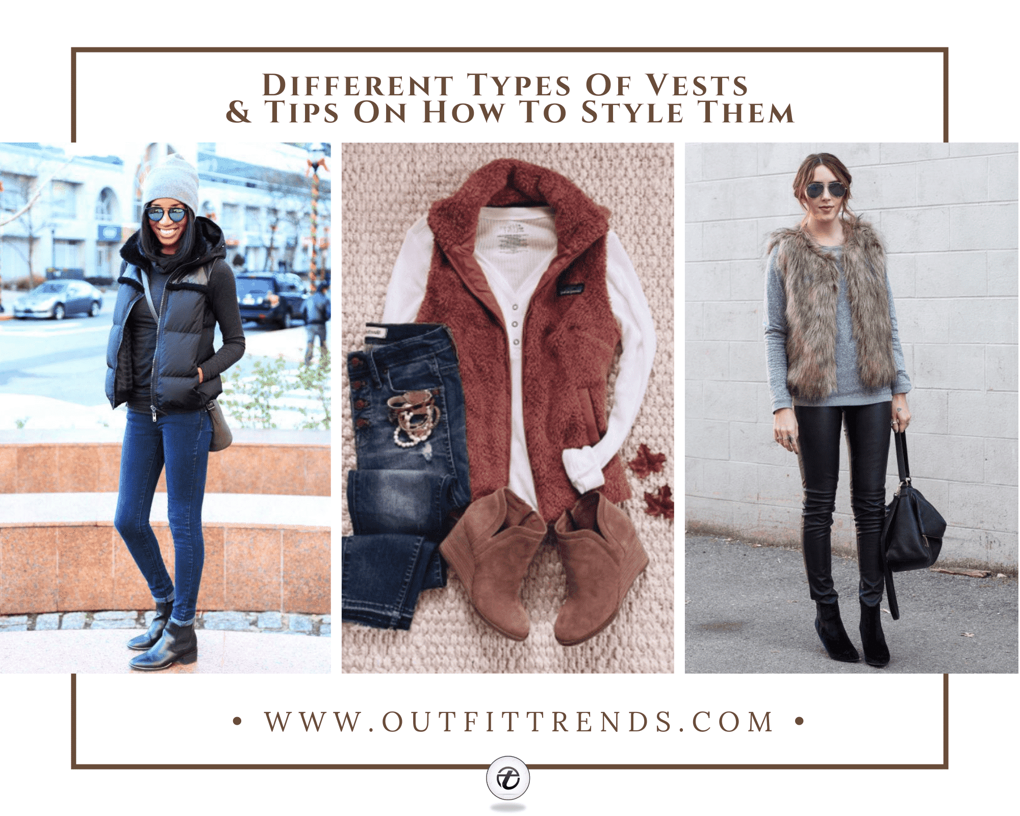 What to Wear with a Vest25 Best Vest Outfit Ideas for Women