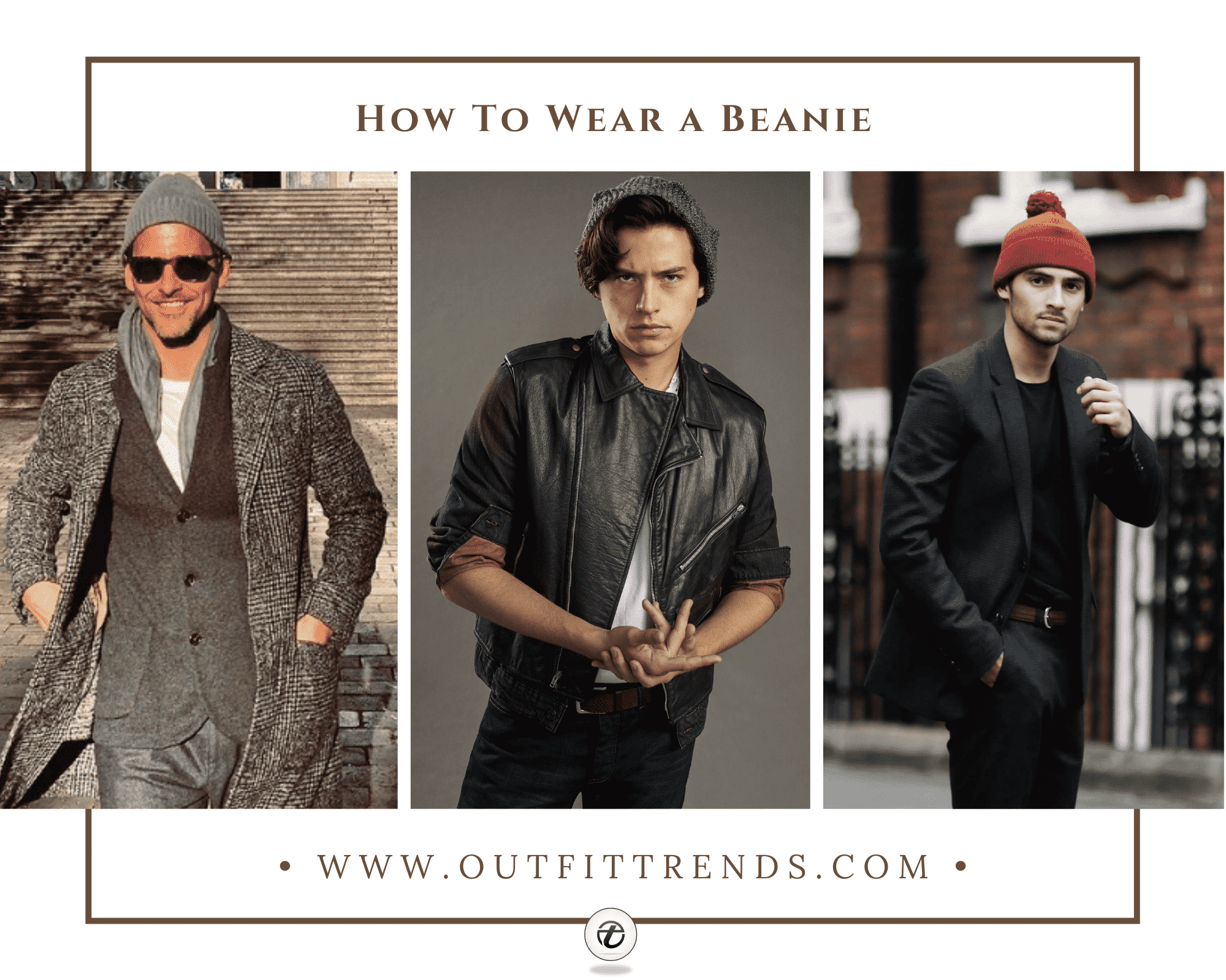 how to wear beanie for guys