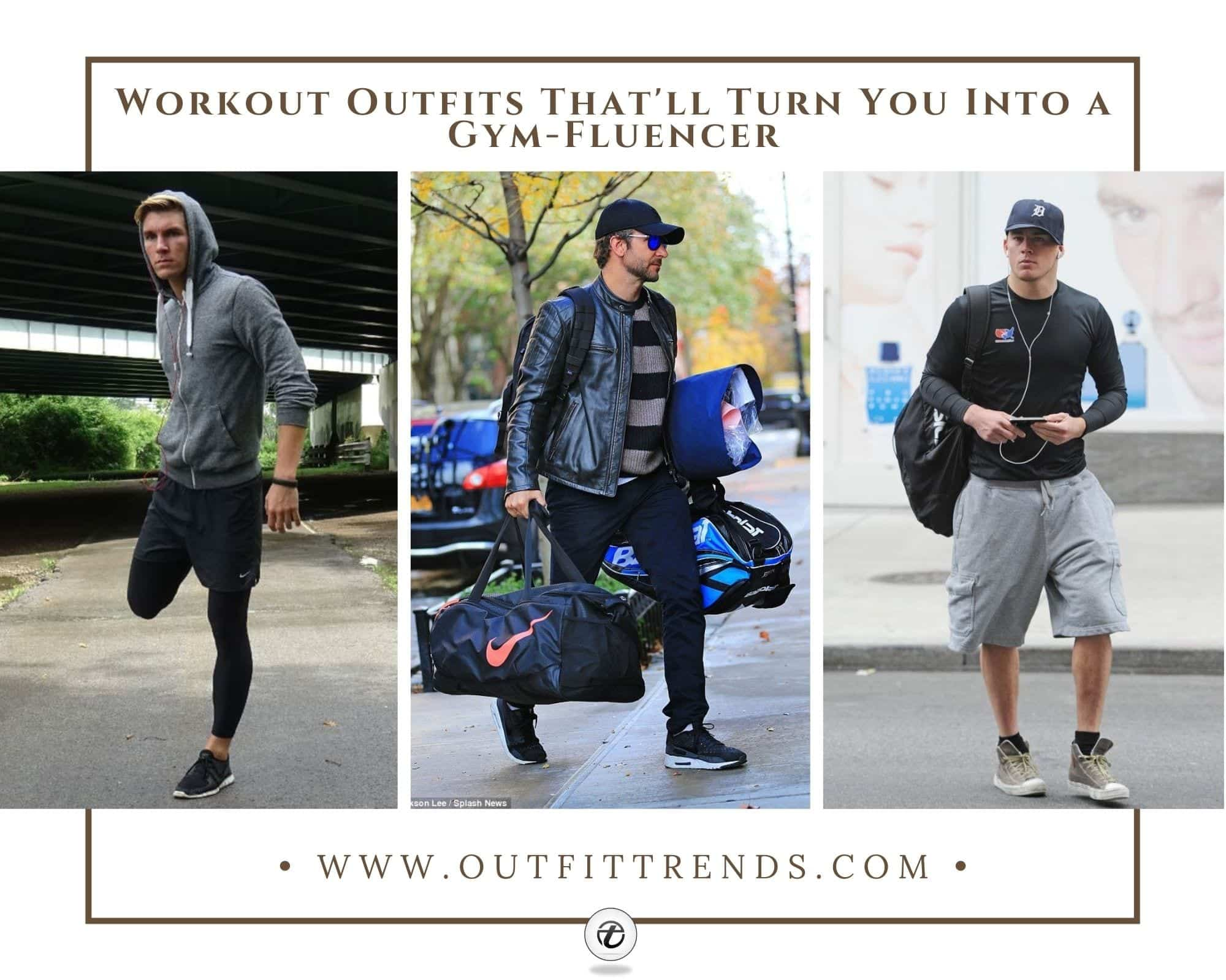 Men's Workout Outfits | 29 Athletic Gym Wear Ideas for Men
