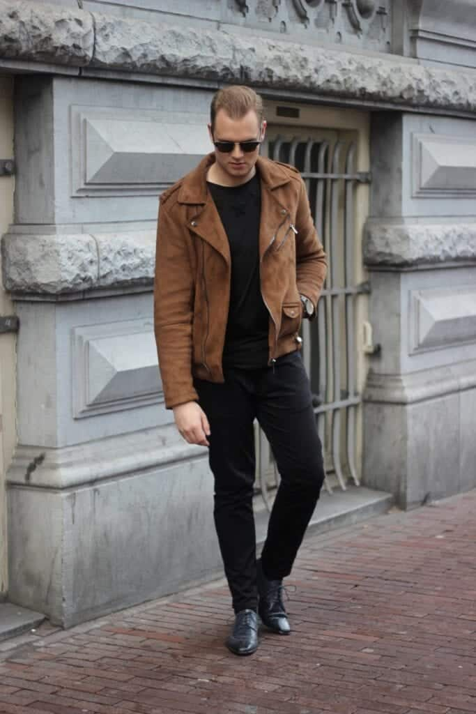 how to wear suede jacket for men (15)