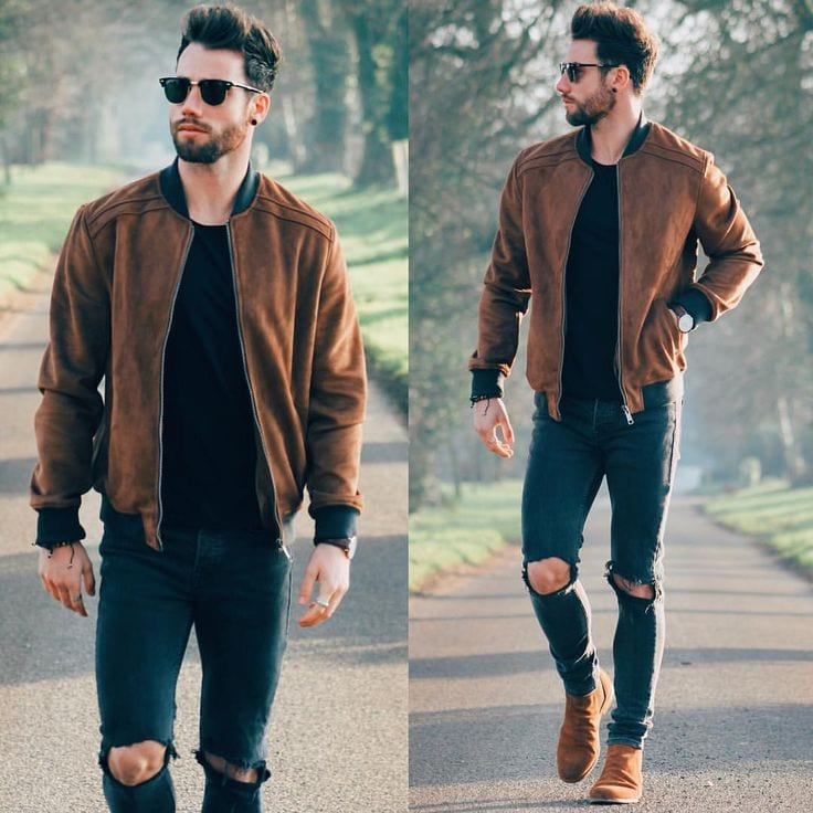 how to wear suede jacket for men (14)