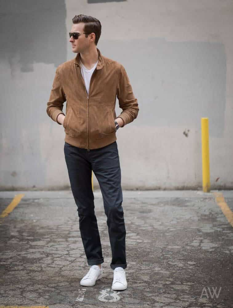 how to wear suede jacket for men (10)
