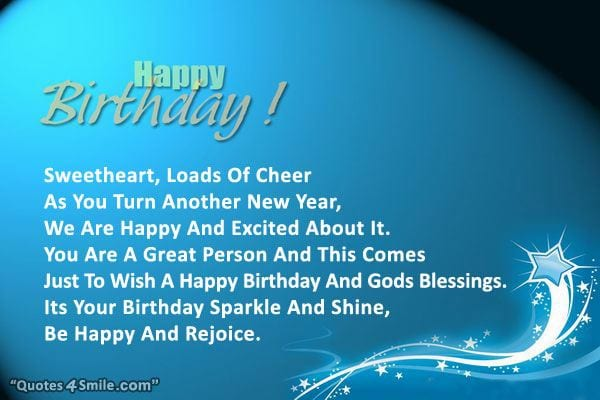Islamic Birthday Wishes 7