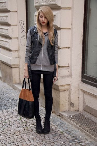 How to wear a vest for women (2)