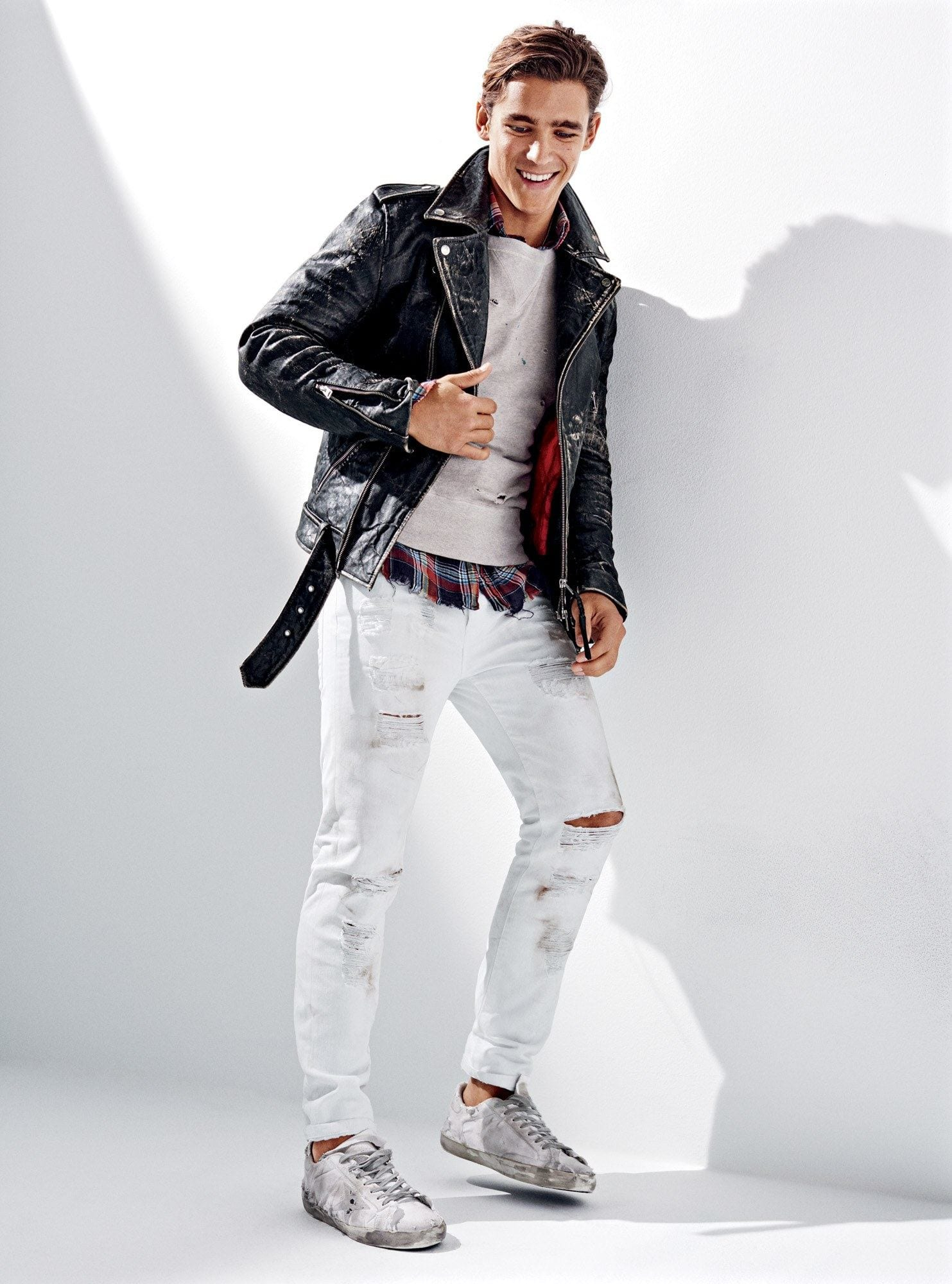 To acquire Skinnies White for men combinations picture trends