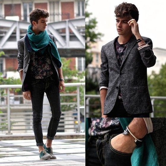 how to wear a floral shirt outfit for men (7)