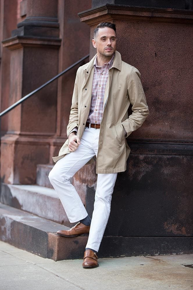 how to wear white jeans for men (7)